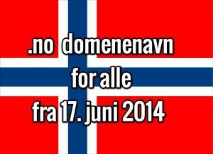 norsk domenenavn for alle