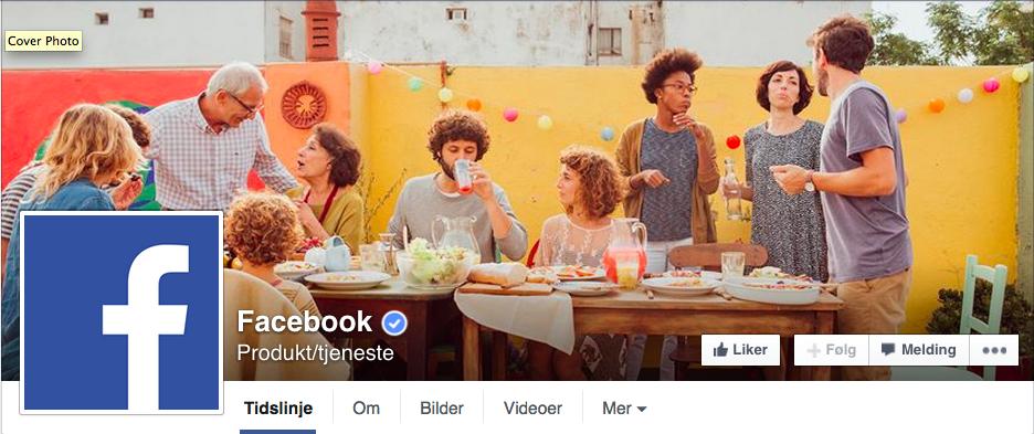 Verifisere din Facebook side