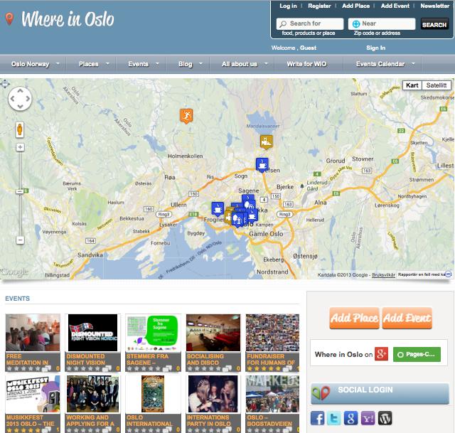Where in Oslo - whereinoslo.com