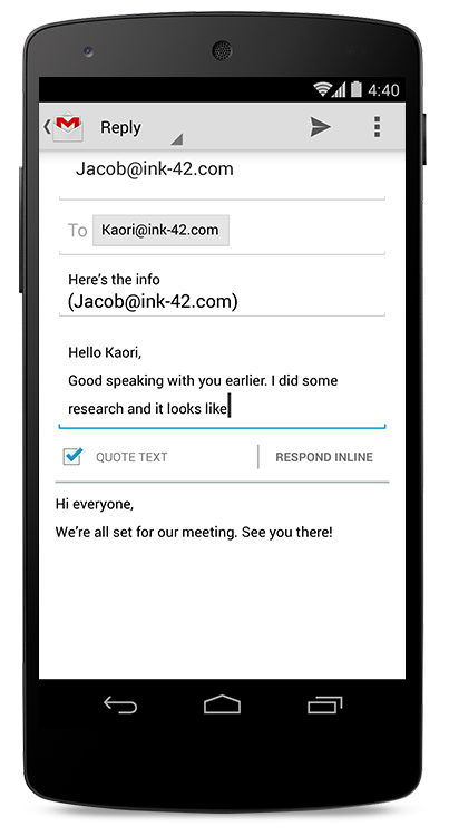 gmail for bedrifter